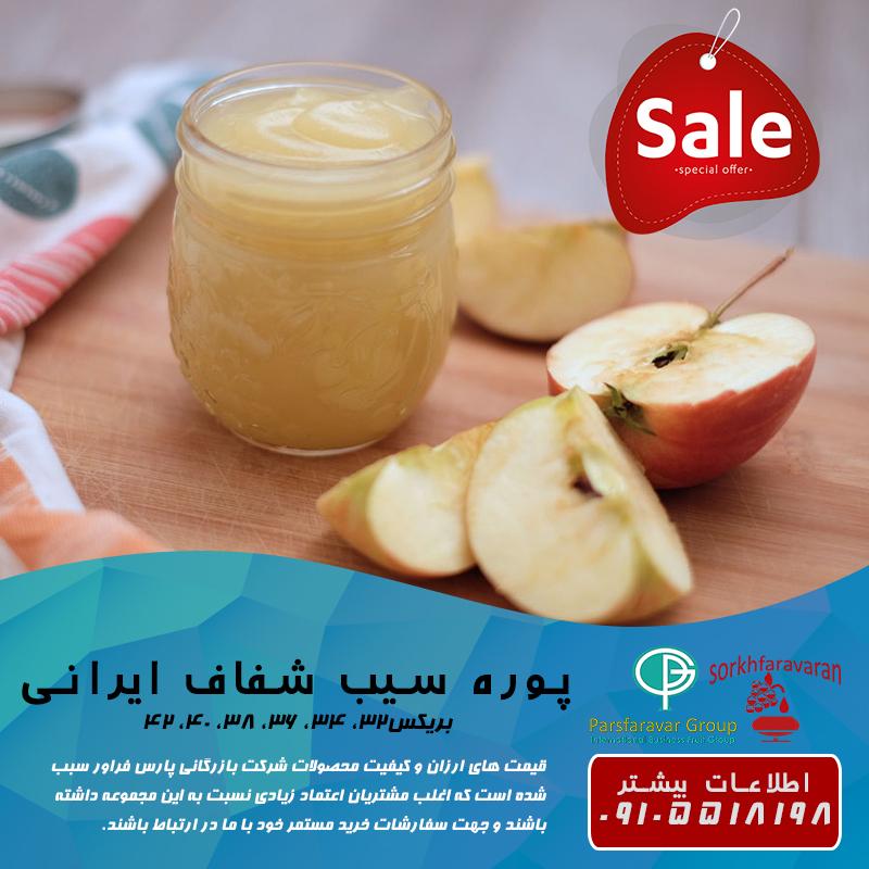 صادرات پوره سیب