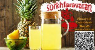قیمت کنسانتره آناناس